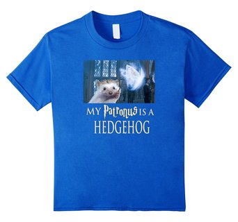 My Patronus is a Hedgehog