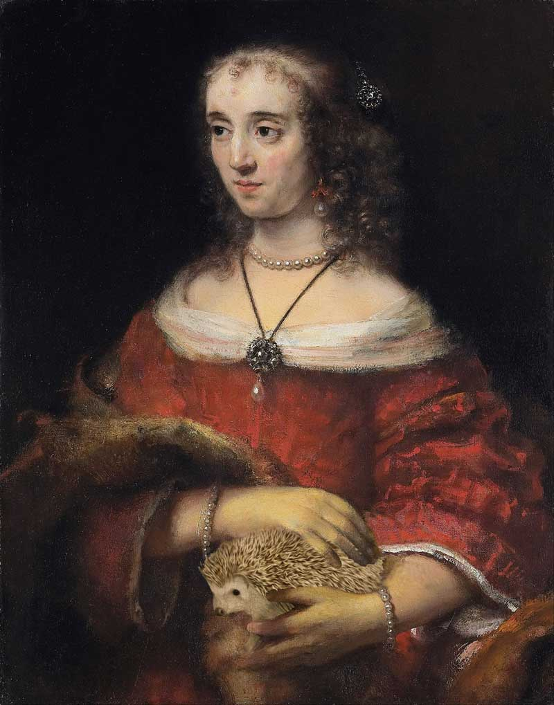 Rembrandt-Portrait_of_a_Lady_with_a_Hedgehog